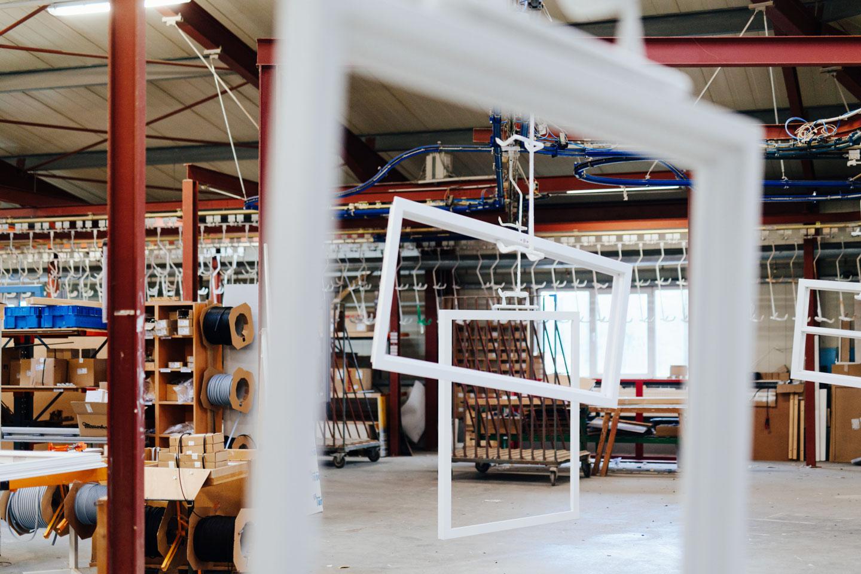 BEKRU Werke Abteilung Holz – Fensterrahmen