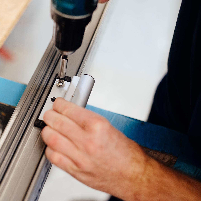 BEKRU Werke Abteilung Aluminium – Türendetail