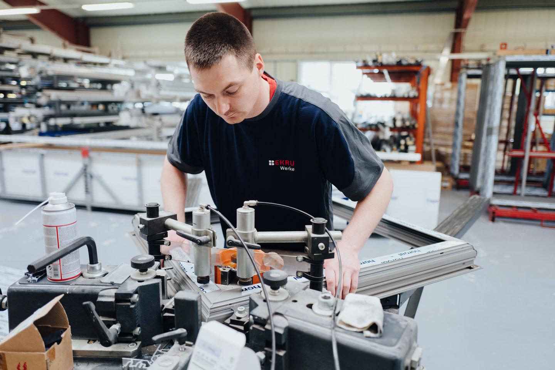 BEKRU Werke Abteilung Aluminium – Mitarbeiter