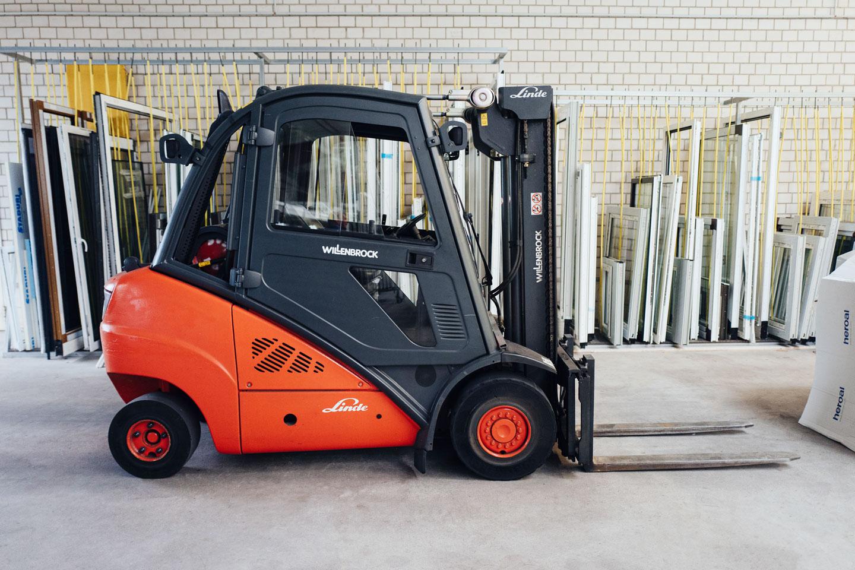 BEKRU Werke Abteilung Holz – Produktionshalle