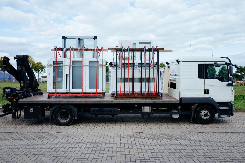 BEKRU Werke Gelände – Fuhrpark