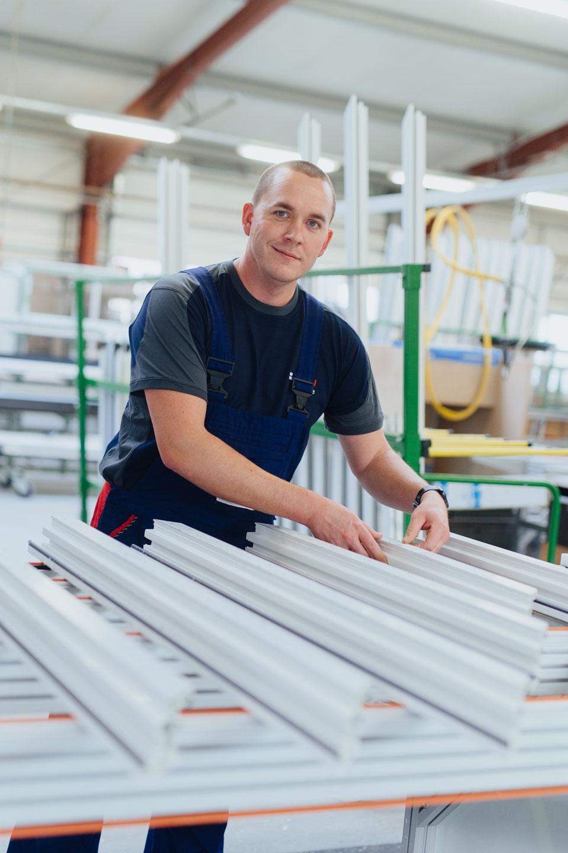BEKRU Werke Abteilung Kunststoff – Mitarbeiter