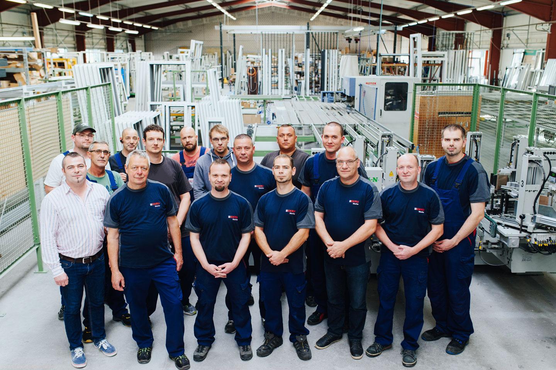 BEKRU Werke Abteilung Kunststoff – Team