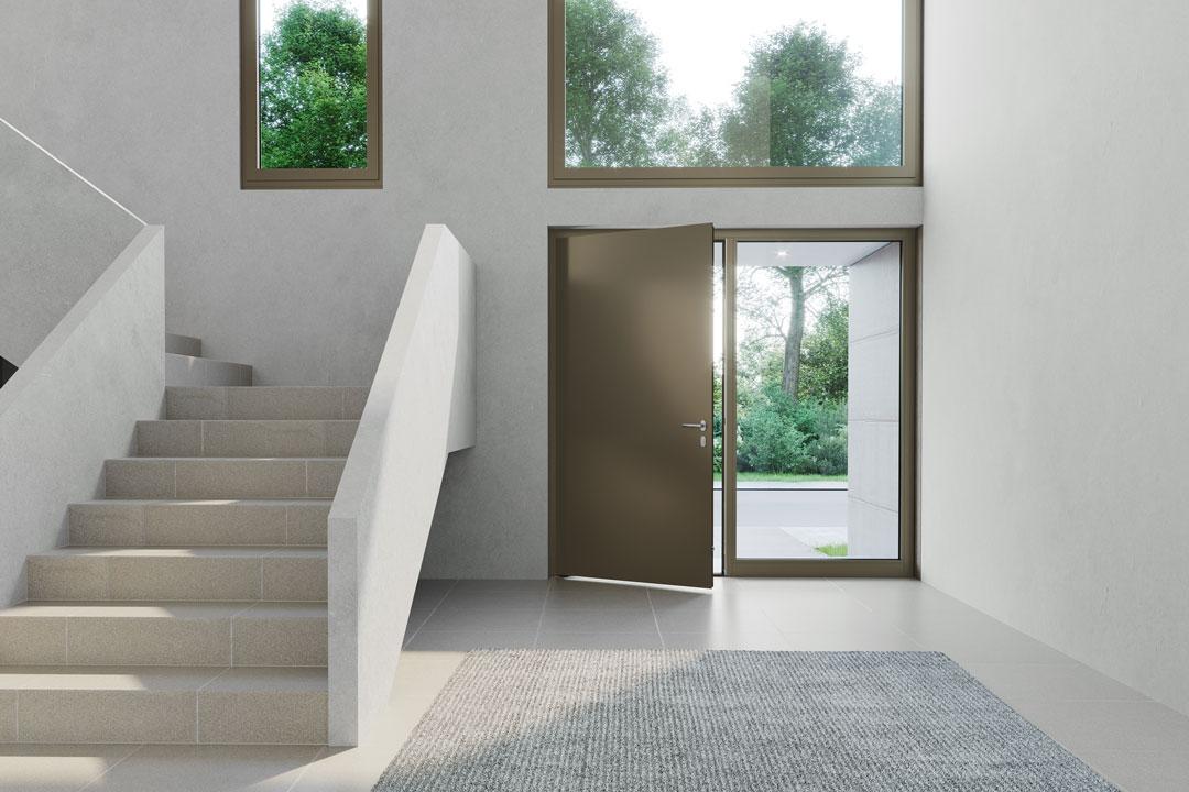heroal_Architektenhaus-Le-Corbusier-Haustuer-Milieu-innen-Eloxal-33