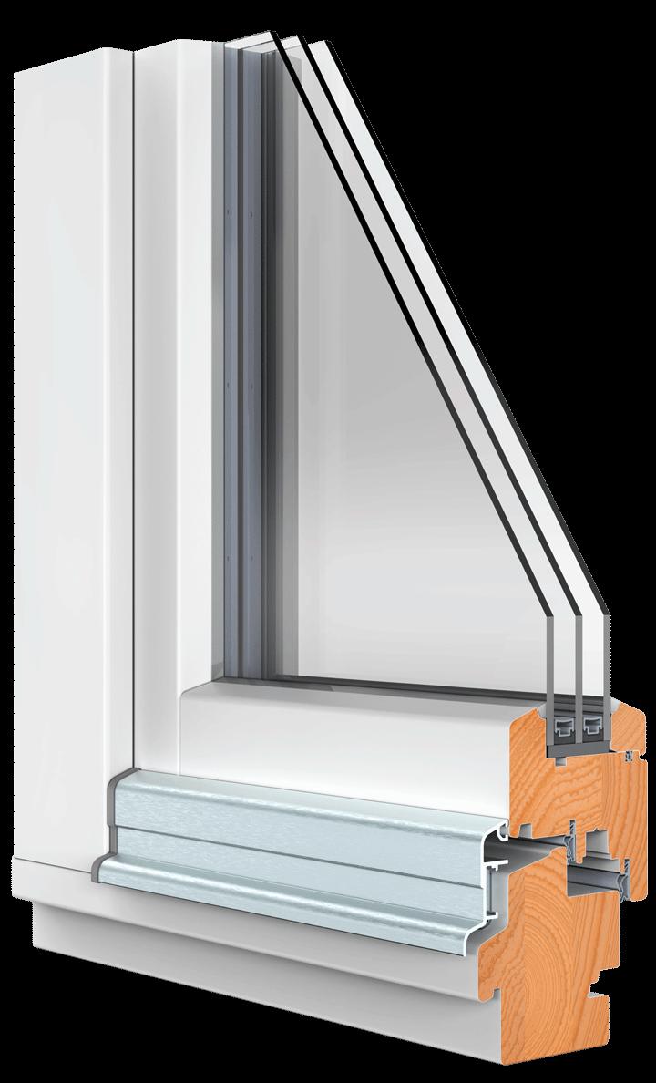 BEKRU Werke Holzfenster IV 78 Standard