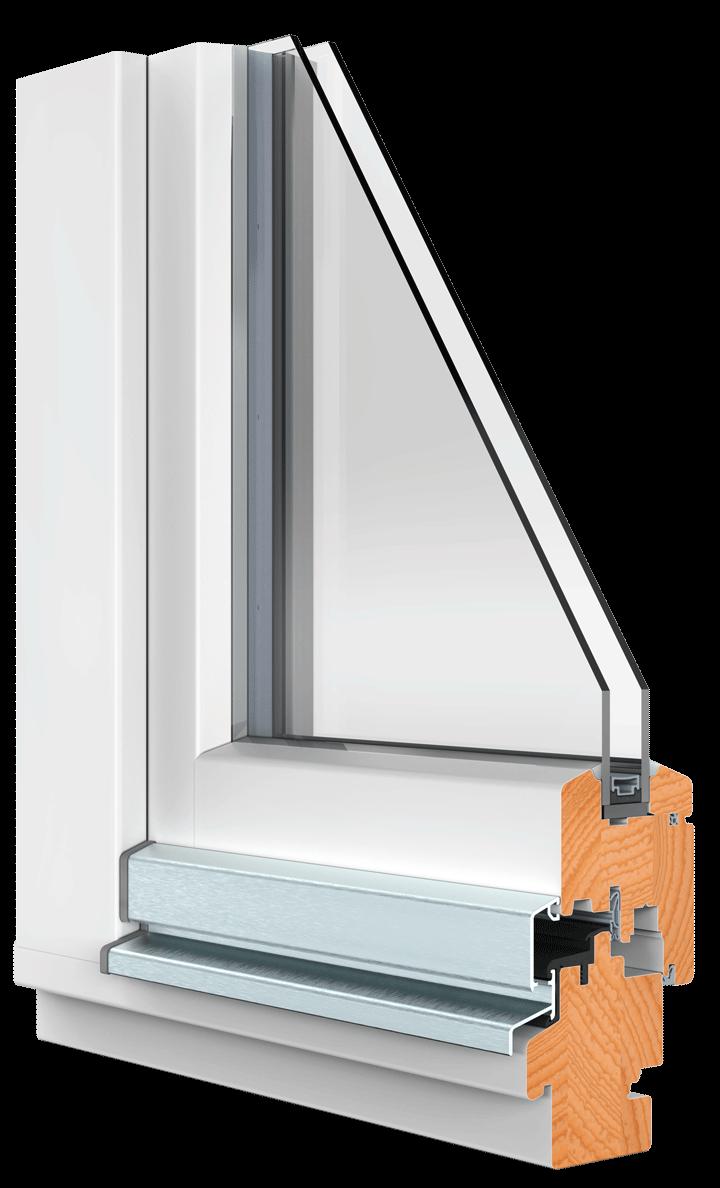 BEKRU Werke Holzfenster IV 68 Standard